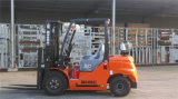 Caminhão de empilhadeira com capacidade de 3 toneladas de GPL