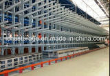 Lager Storage Schwer-Aufgabe Adjustable Cantilever Rack mit Roof Design