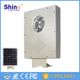 Fabricante 5W solar del jardín / patio / carretera / luz solar al aire libre con 3 años de garantía