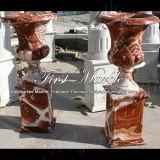 Marmeren Rode Planter mp-504 van Eretria van de Planter van het Graniet van de Steen