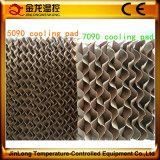 Almofada altamente eficiente refrigerar evaporativo de Jinlong para a casa de galinha