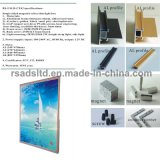 Type neuf annonçant le cadre magnétique de l'étalage DEL de l'usine de la Chine