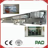 operador do carregamento 100kg para a porta de vidro automática