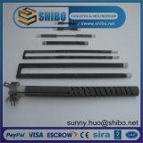 Elemento de aquecimento quente da venda SIC, calefator elétrico de carboneto de silicone, calefator da fornalha do SIC