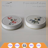 Mouth normale Mason Jar Lid con Logo Printing
