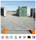 Rete fissa provvisoria di recinzione provvisoria galvanizzata