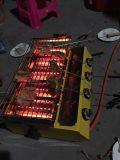 バーナーの版が付いている赤外線BBQのグリル