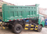 Piccolo autocarro con cassone ribaltabile delle rotelle 4X2 6 5 tonnellate di mini autocarro a cassone da vendere