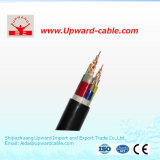 PVC do cobre/cabo distribuidor de corrente blindado isolado XLPE de fio de aço