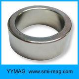Imán fuerte estupendo personalizado Imán fino del neodimio del anillo para el altavoz