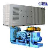 Groupe électrogène de Mitsubishi Japon Origianl 1200kw/1500kVA pour la construction industrielle avec le certificat de la CE