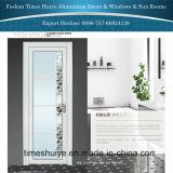 portello interno di alluminio della stoffa per tendine di colore bianco di 1.0mm~2.0mm con i fiori