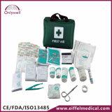 Cassetta di pronto soccorso di nylon di emergenza medica degli impiegati di ufficio