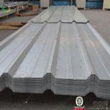 Feuille galvanisée de toiture enduite par couleur en métal de fer