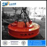 Магниты Dia-1650 mm промышленные поднимаясь для крана MW5-165L/1 Suiting 10t стального утиля поднимаясь