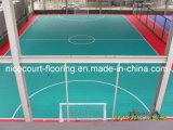 De Vloer van de Sporten van de binnenplaats voor het Schaatsen van het Hockey van Futsal van het Basketbal de Gouden Reeks van het Tennis