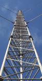 عال [قوتيتي] يغلفن شدّادة خطّ فولاذ برج لأنّ إتصال