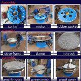 Tamiz circular de la vibración de la grava estándar del acero inoxidable de la serie de Xzs