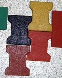 Резиновый гимнастика справляясь плитки пола напольной спортивной площадки резиновый
