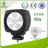 luz del trabajo del CREE 6inch LED de 4500lum 80W