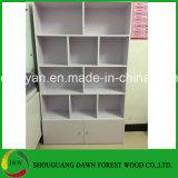 Weißer Melamin-Farben-Möbel-Bücherregal-Bücherschrank