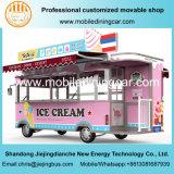 5 tester di vendita calda dell'alimento del camion del camion elettrico del gelato