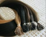 7A 브라질 Virgin Human Cold Fusion I TIP Hair Extension