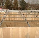 プレハブの鉄骨構造の家禽は鉄骨構造のニワトリ小屋を収容するか、またはつける