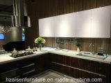 Populärer hoher Glanz Belüftung-Küche-Schrank