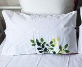Комплект постельных принадлежностей зеленого цвета плиты печатание подъема руки хлопка 90%