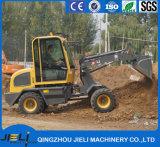 Миниые тракторы при затяжелитель 800kg начала нагружая китайский затяжелитель колеса