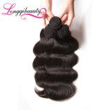 Unverarbeitete menschliche Jungfrau-brasilianische Haar-Extensions-Karosserien-Welle