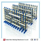Doppeltes versah Metallstandplatz disassemblieren freitragendes Hochleistungsracking mit Seiten