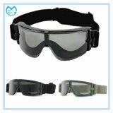 Óculos de proteção balísticos das forças armadas da prova da areia de Eyewear da prova da poeira