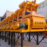 Mezclador concreto eléctrico obligatorio del eje gemelo (JS500)
