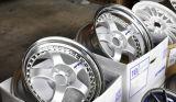 大きい皿ニースのリベットが付いている美しい作業合金の車輪