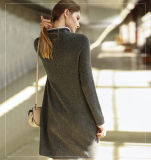 Casaco feminino em cachecol Long Fashion Dress 16brdw020