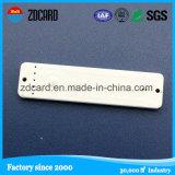 金属表面のためのプログラム可能な13.56MHz反金属受動RFIDの札