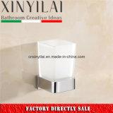 浴室のアクセサリのための極度の現代ガラスタンブラーのホールダー