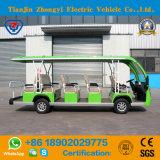 Las ventas directas de la fábrica de 14 asientos ponen verde el coche de visita turístico de excursión eléctrico
