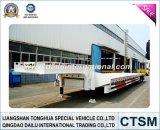 SGS van ISO CCC keurde de Lage Semi Aanhangwagen van het Bed van Fabrikant goed