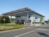 Het poort Centrum van de Tentoonstelling van de Structuur van het Staal van het Frame Lichte (kxd-43)