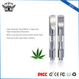 2017 G3-H Haut débit d'air Pas de filtre à double bobine Cbd Glass Cartridge 0.5ml 1ml Vape Hemp Oil