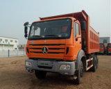 De Vrachtwagen van de Kipper van Beiben 6X4 380HP met 18m3 de Doos van de Kipper