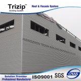Feuillard trapézoïdal de vente chaude pour l'usine