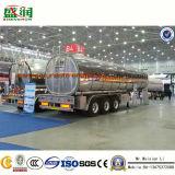 Shengrun Hersteller-Aluminiumlegierung-flüssiger Tanker-halb Schlussteil