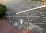 Edelstahl-Handlauf-Endstöpsel für Geländer-System