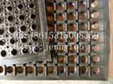 Estera de goma antifatiga barata de la cocina de la alta calidad, estera de goma del orificio