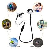 La scuderia da portare mette in mostra il trasduttore auricolare di Earbuds Bluetooth per gli sport