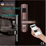 Fechamento de porta de Tyt WiFi com o fechamento de porta elétrico de controle remoto